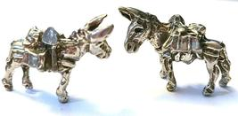 Donkey Mining Mule Gold Rush Fine Pewter Figurine -Approx. 7/8 inch tall  (T243) image 4