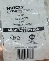 Nibco Press System PC607 90 Degree Elbow 1 1/2 Inch 9056150PC image 2