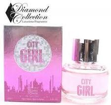 CITY GIRL BY DIAMOND COLLECTION FOR WOMEN 3.4 OZ EDP SPRAY - $10.00