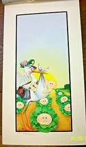 Original CPK Painting -Colonel Casey Delivers a Cabbage Patch Kid -Artist Signed - $886.05
