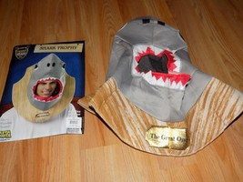 Adult One Size Rasta Imposta Trophy Head Great White Shark Costume Headpiece New - $16.00