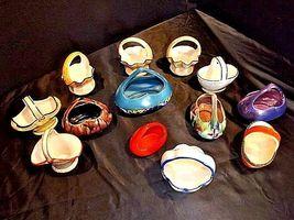 Czechoslovakia Ceramic Basket AA18-1368-K Vintage image 7