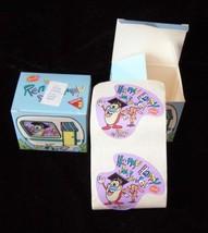 Ren & Stimpy Stickers Dakin 1992 New in Package 2 Boxes - $16.99