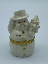 Lenox Treasures The Snowman's Surprise Box First Issue - $4.95