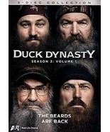 Duck Dynasty: Season 2, Vol. 1 (DVD, 2013, 2-Disc Set) Like New - $5.69