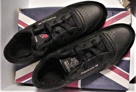 NIB REEBOK Classic Leather Black/gray Junior size 4.5 - $39.95