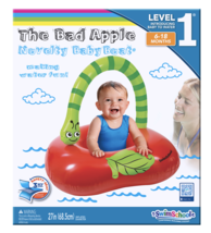 SwimSchool The Bad Apple Novelty Baby Boat, Level 1, Safety Seat, 6 - 18... - $9.95