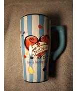 "NURSE  COFFEE MUG--TRAVEL--TALL / SLENDER--""NURSES HAVE A HEALING TOUCH""... - $21.77"