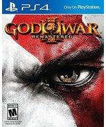 God of War 3 Remastered - PlayStation 4 [video game] - $31.87
