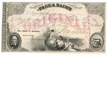 Page, Bacon & Comp. California, Original Exchange, March 29, 1855, St. L... - $159.00