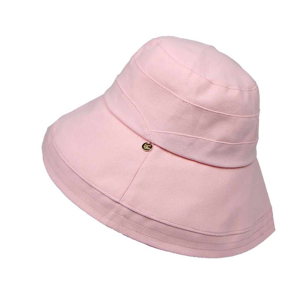 CHANSGEND Women Spring And Summer Hat Foldable Wide Brim Floppy Caps Casual Sun  image 3