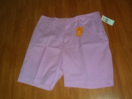 Quiksilver Waterman Collectiom Men's Shorts Size 38 Pink Down Under MSRP:$60 Nwt - $26.99