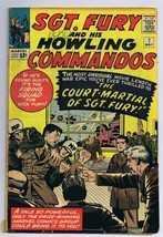 Sgt Fury and His Howling Commandos #7 ORIGINAL Vintage 1964 Marvel Comic... - $59.39
