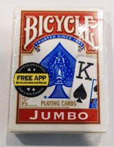 Bicycle Jumbo Red Playing Cards (New) - $7.60