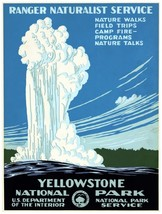 9600.Ranger naturalist service.yellowstone national.POSTER.decor Home Of... - $10.89+