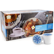 120 Count Day To Day Coffee Breakfast Blend Single Serve Coffee Cups - $38.85
