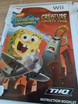 Nintendo Wii SpongeBob: Creature From The Krusty Krab - Complete image 2