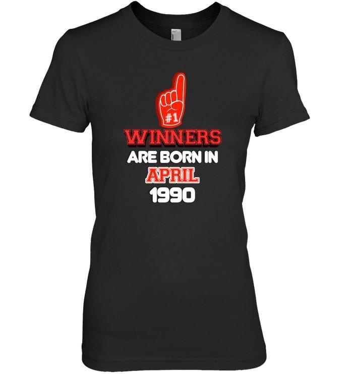 April 1990 28th Birthday Sports Fan Birthday Shirt