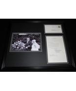 Tricia Nixon Cox Framed 16x20 ORIGINAL 1973 Letter & Photo Display w/ Ri... - $123.74