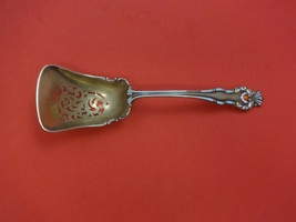 "Queens by Howard Sterling Silver Fruit Scoop Pierced w/Enamel 8 1/2"" - $309.00"