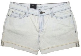 Calvin Klein Jeans Women's Easy Shorts Blue Mist   Sz 6 - $17.67