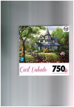 "Carl Valente 750 Piece Puzzle by Sure-Lox - 23.5"" x 15.5"" Complete  - $14.00"