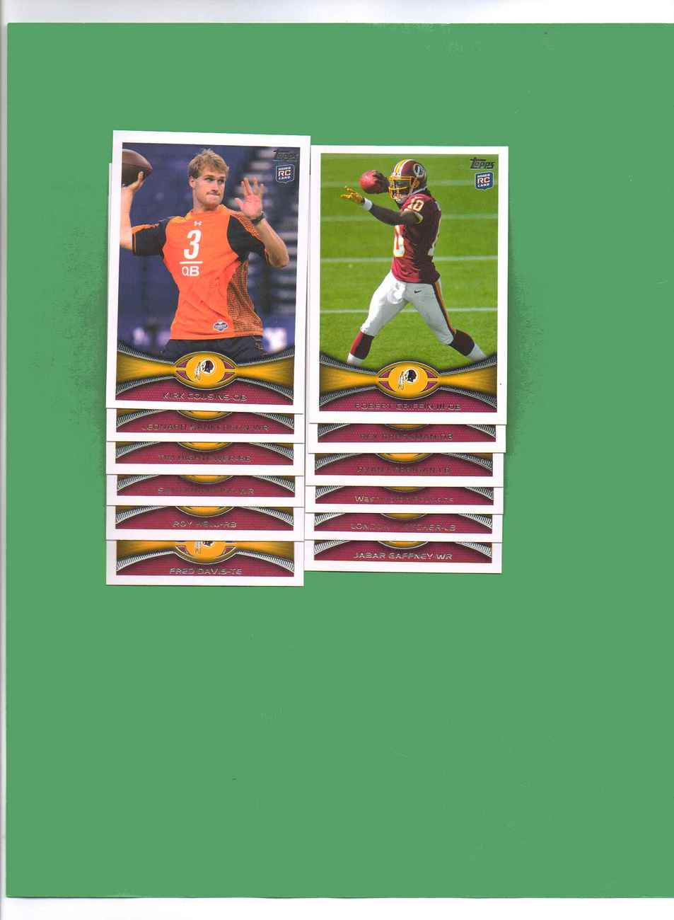 Primary image for 2012 Topps Washington Redskins Football Set