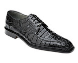Belvedere Mens Shoes Black Chapo Crocodile 1465 - €562,29 EUR