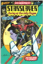 Starslayer Comic Book #7 First Comics 1983 VERY FINE - $2.99