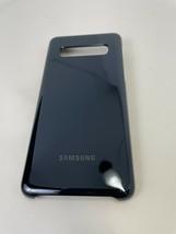 Samsung LED Back Cover Case for Samsung Galaxy S10 Black EF-KG973CBEGUS  - $14.00