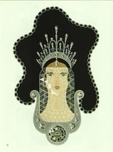 "Erte ""Diamond"" from the ""Precious Stones"" collection. Vintage 1978 Art Deco prin image 1"