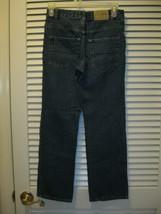 Childrens Place Boys Straight Fit Denim Blue Jeans Size 12 Adjustable Waist - $11.00