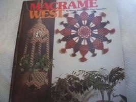 Macrame' West - $5.00