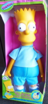 """Talking Bart Simpson 18"""" INCHES - $99.95"""