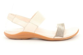Abeo Bianca Sandals Stone Women's Size US 9.5  Neutral Footbed ($) - $74.45