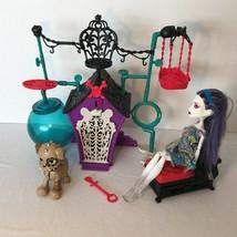 Monster High Playset Secret Creepers Pets Dog House Frankie Stein Key Do... - $19.99