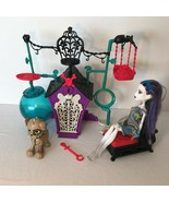 Monster High Playset Secret Creepers Pets Dog House Frankie Stein Key Do... - $19.99