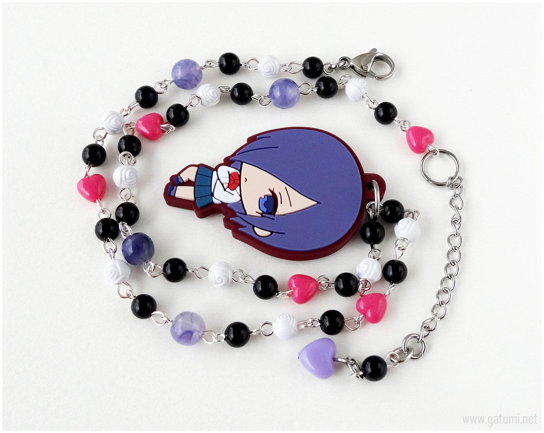 Anime Chibi Necklace, Gothic Lolita, Kawaii