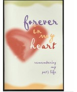 Forever In My Heart Remembering My Pet's Life Memorial Booklet Dog Cat J... - $10.89