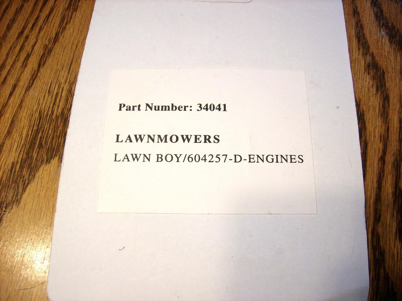 Lawn Boy D-100, F-100 lawn mower starter spring 604257 / 155-069