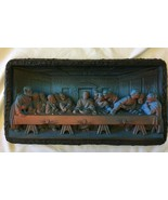The LAST SUPPER  Plaque Vintage 1959 Victor Wall Plaque  - $59.99