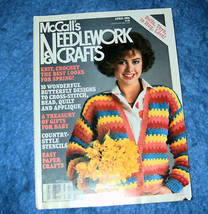 McCall's Needlework & Crafts, April 1986 Issue - $3.50