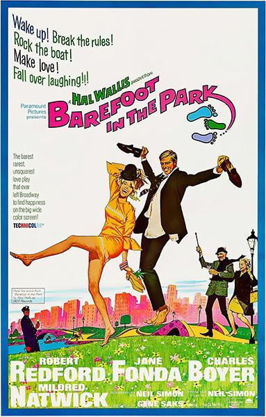 Primary image for Barefoot In The Park - 1967 - Movie Poster
