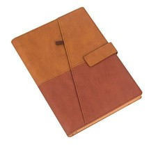 CYOS Fashion Spiral Bound Journal Lined Pages A5 Size PU Leather Soft Ri... - $13.54