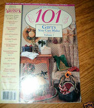 "Decorative Artist""s Workbook, 101 Gifts You Can Make Vol. 3 - $3.50"