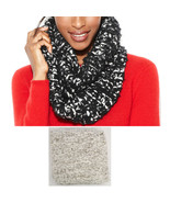 New CHARTER CLUB Grey Soft Cozy Eyelash Boucle Knit Infinity Scarf Women... - $8.99