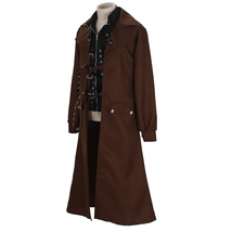 Harry Potter Alastor Moody Mad-Eye Trench Coat Vest Cosplay Costume - $140.99+