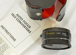 Kalimar 1.4 X M/AF Tele Converter Auto Focus camera lens w/ case & instructions image 6