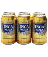 Inca Kola Golden Carbonated Beverage Soda - la kola dorada - 12 oz cans ... - $13.12