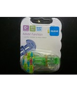 MAM Pacifier Holder/Clip Pink Fish NEW SEALED - $8.41